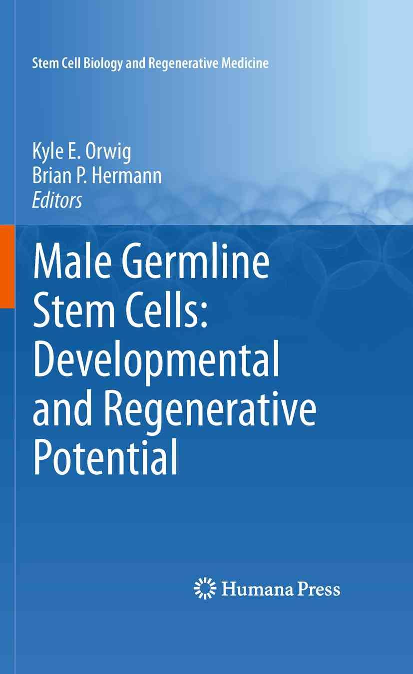 Male Germline Stem Cells: Developmental and Regenerative Potential By Orwig, Kyle E. (EDT)/ Hermann, Brian P. (EDT)